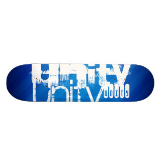Einheit; Königsblau-Streifen Personalisiertes Skateboard