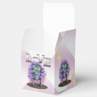 EINHEITS-ROBOTER-CARTOON klassischer Kasten 2x2 Geschenkschachtel