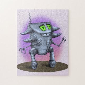 EINHEITS-ROBOTER-CARTOON-PUZZLESPIEL 11 X 14 PUZZLE