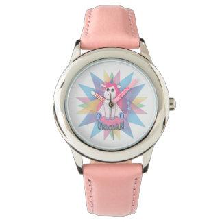 Einhorn Armbanduhr