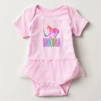 EINHORN: Baby-Ballettröckchen-Bodysuit Baby Strampler