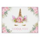 Einhorn-Babyparty danken Ihnen Karten