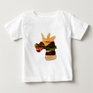 Einhorn-Burger Baby T-shirt