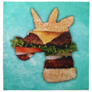 Einhorn-Burger Stoffserviette