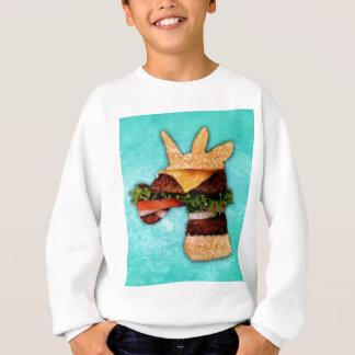 Einhorn-Burger Sweatshirt