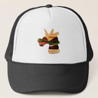 Einhorn-Burger Truckerkappe