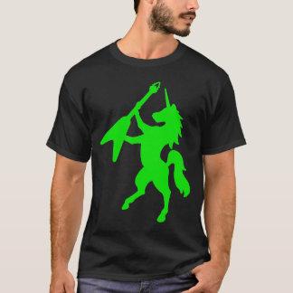 Einhorn, das Gitarre spielt T-Shirt