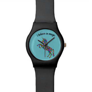 """Einhorn, """", das ich an magische"""" Uhr glaube"""