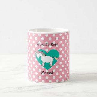 Einhorn des besten Freunds der Welt Kaffeetasse