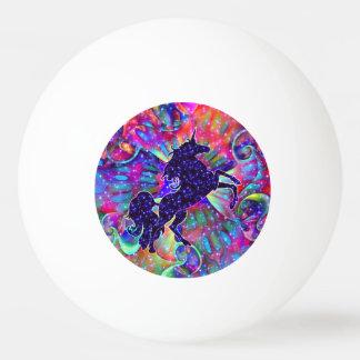 EINHORN DES UNIVERSUMS mehrfarbig Ping-Pong Ball