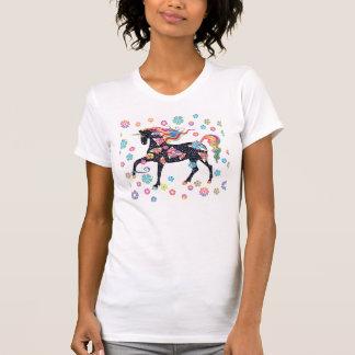 Einhorn - dunkelblau T-Shirt
