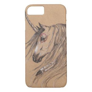 Einhorn-Feder-Mustang iPhone 8/7 Hülle