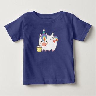 Einhorn-Geburtstag Baby T-shirt