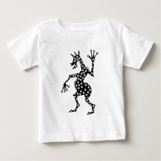 Einhorn-gespenstische Augen Baby T-shirt