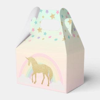 Einhorn-Giebel-Bevorzugungs-Kasten Geschenkschachtel