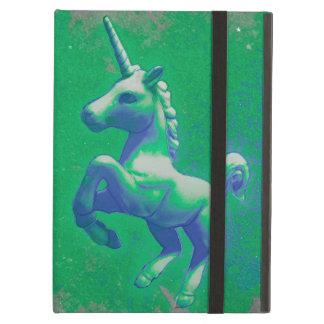 Einhorn iPad Fall (glühend Smaragd)