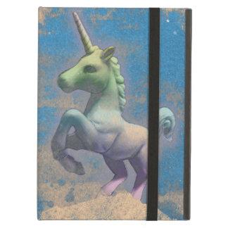 Einhorn iPad Fall (Sandy-Blau)
