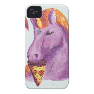 einhorn isst Pizza iPhone 4 Cover