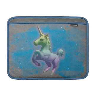 Einhorn Macbook Luft-Hülse (blauer Nebelfleck) MacBook Air Sleeve