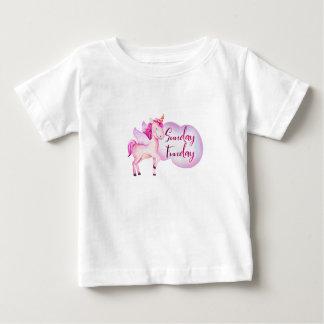Einhorn - magischer Entwurf Sonntags Funday - Baby Baby T-shirt