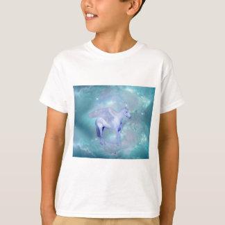 Einhorn mit Flügelphantasie T-Shirt