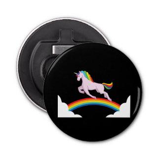 Einhorn mit Regenbogen Flaschenöffner