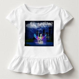Einhorn mit Regenbogen-Flügeln Kleinkind T-shirt