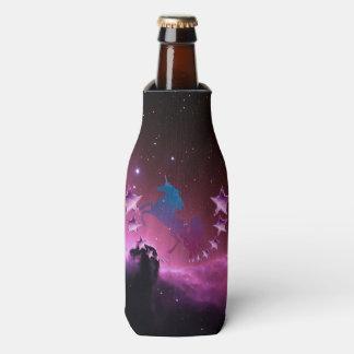 Einhorn mit Sternen Flaschenkühler