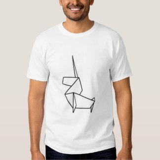 Einhorn origami hemden