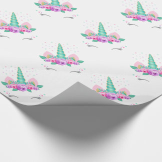 Einhorn-Packpapier Geschenkpapier