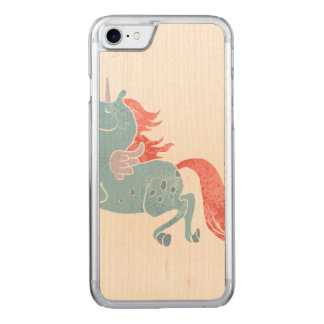 Einhorn Pegasus Carved iPhone 8/7 Hülle