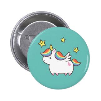 Einhorn-Pony Runder Button 5,7 Cm