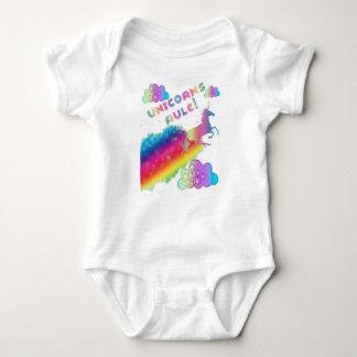 Einhorn-Regel-Bodysuit Baby Strampler