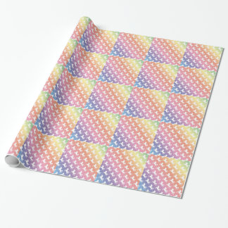 Einhorn-Regenbogen Geschenkpapier