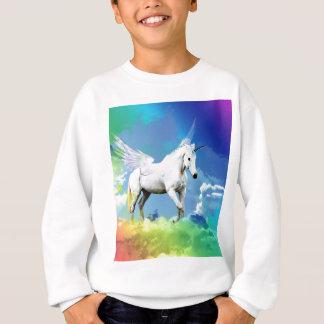 Einhorn-Regenbogen Sweatshirt