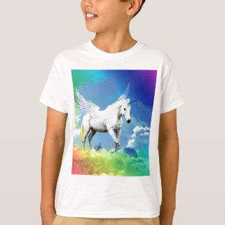 Einhorn-Regenbogen T-Shirt