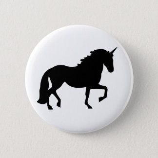 Einhorn Runder Button 5,7 Cm