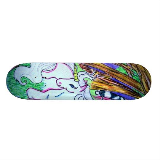 Einhorn-Skateboard Skateboard Bretter