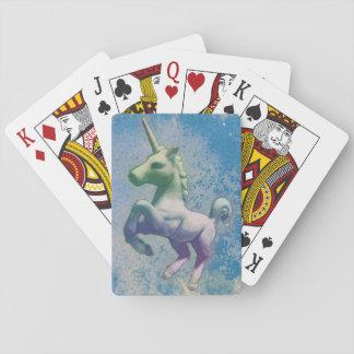Einhorn-Spielkarte-Standard (blaue Arktis) Spielkarten