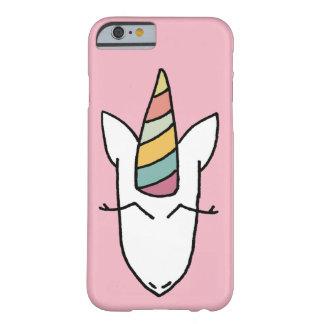 Einhorn-Telefon-Kasten-Abdeckungs-Rosa Barely There iPhone 6 Hülle