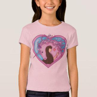 Einhorn-Umarmungen - Rosa T-Shirt