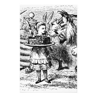 Einhorn und Löwe Briefpapier