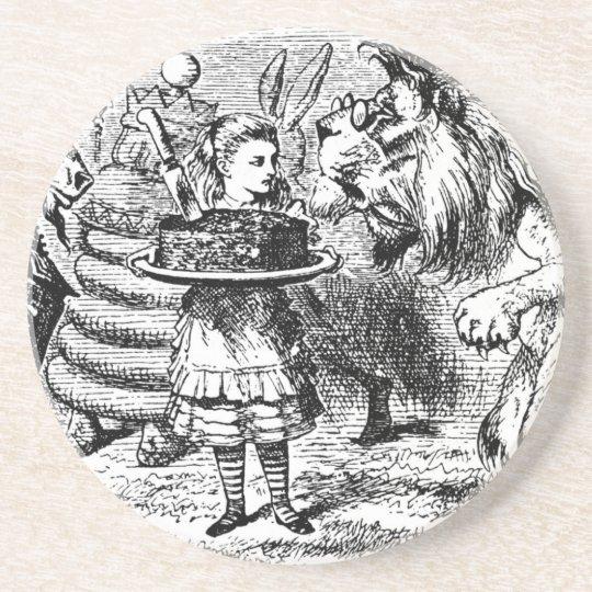 Einhorn und Löwe Getränkeuntersetzer