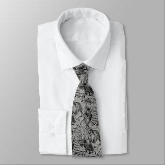 Einhorn und Löwe Krawatte