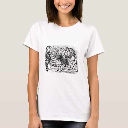 Einhorn und Löwe T-Shirt