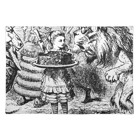 Einhorn und Löwe Tischset
