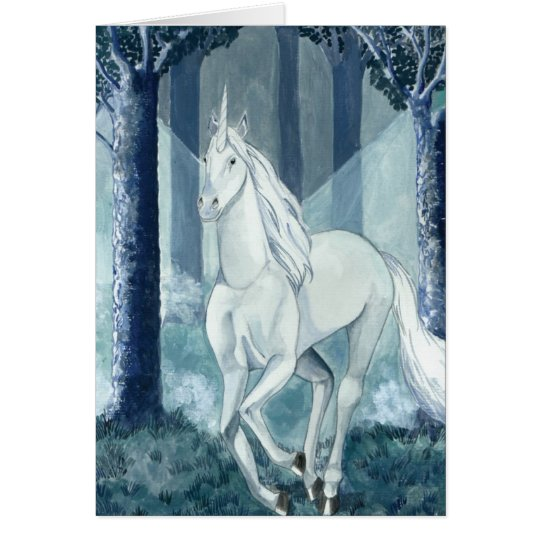 Einhorn - unicorn karte
