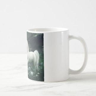 Einhorn-Wasserfall Kaffeetasse
