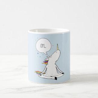Einhorn-Yoga-lustiger Einhorn-Liebhaber Kaffeetasse