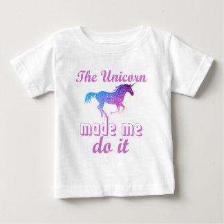 Einhornentwurf Baby T-shirt